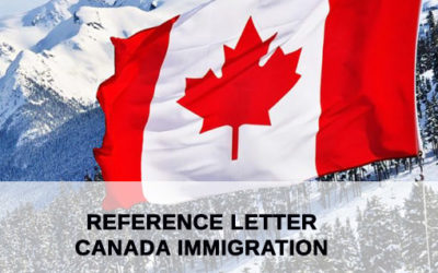 Reference letter for Canadian Immigration